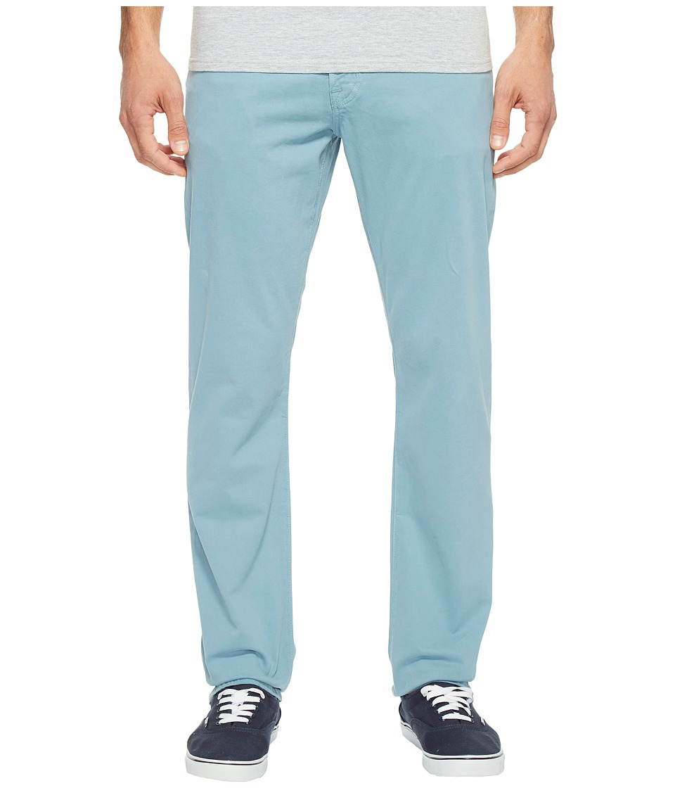 AG Adriano Goldschmied - Graduate Tailored Leg Twill in Yacht Blue (Yacht Blue) Men's Casual Pants
