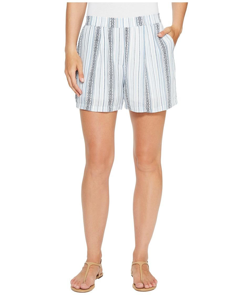 B Collection by Bobeau - Sahara Shorts (Blue Stripe) Women's Shorts