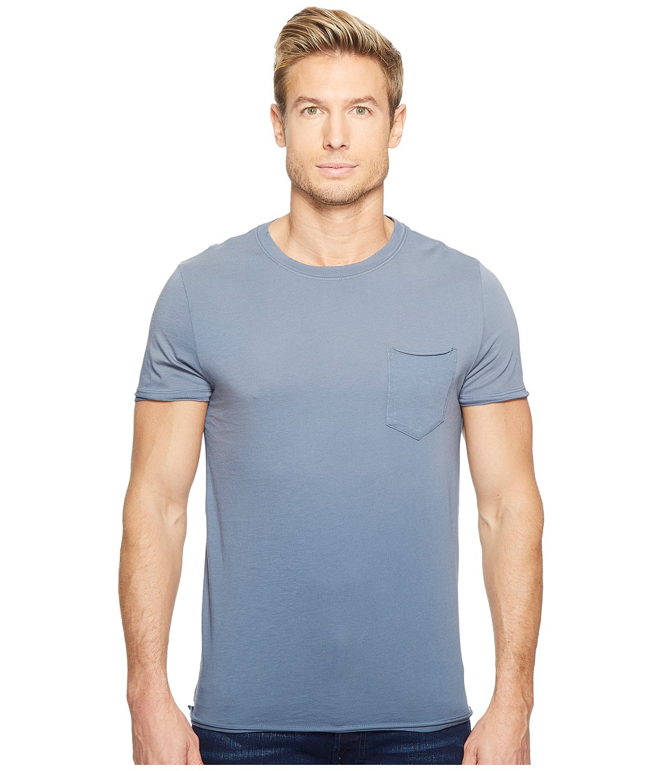 Image of AG Adriano Goldschmied - Anders Pocket Crew (Sun Faded Riviera) Men's Clothing