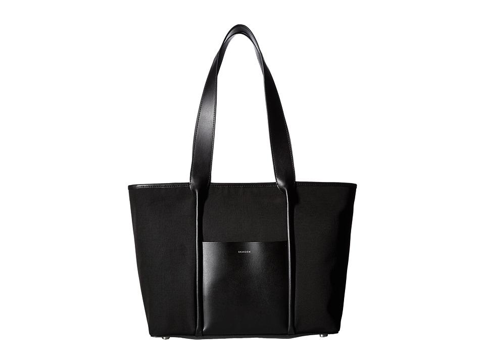 Skagen - Lisabet Tote (Black 1) Tote Handbags