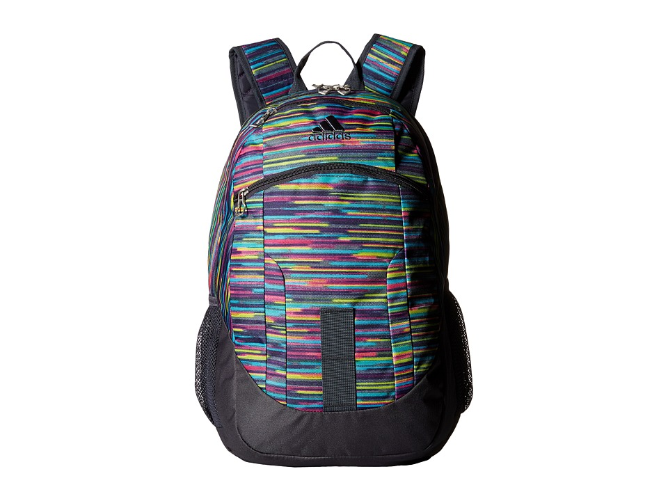 adidas - Foundation II Backpack (Skyler Print/Deepest Space/Shock Pink) Backpack Bags