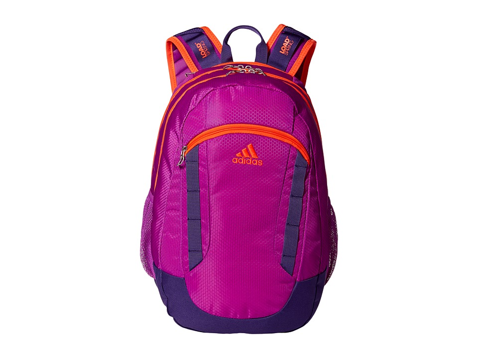 adidas - Excel II Backpack (Shock Purple/Unity Purple/Solar Red) Backpack Bags