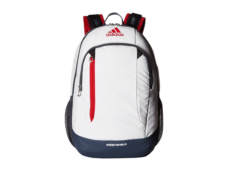adidas - Mission Backpack (Neo White/Deepest Space/Scarlet/Black) Backpack Bags