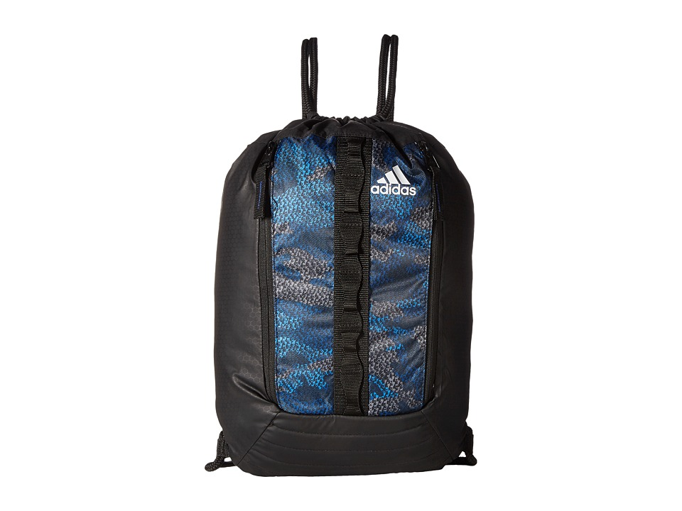 adidas - Skyline Sackpack (Prime Camo Unity Ink/Black/White) Bags