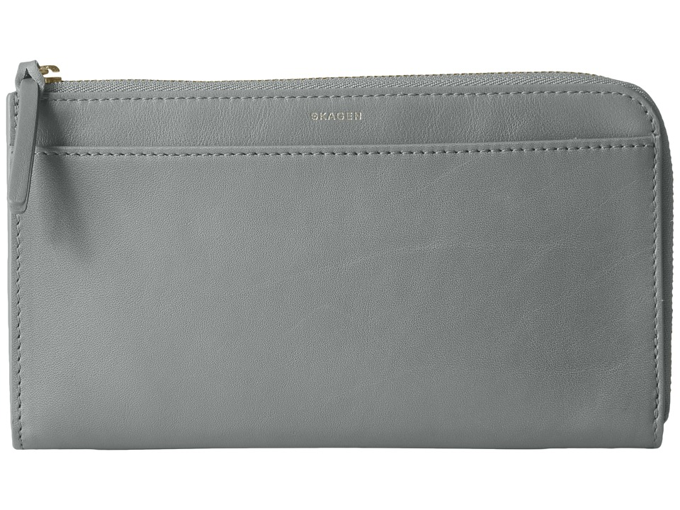 Skagen - Phone Wallet (Light Ash) Wallet Handbags