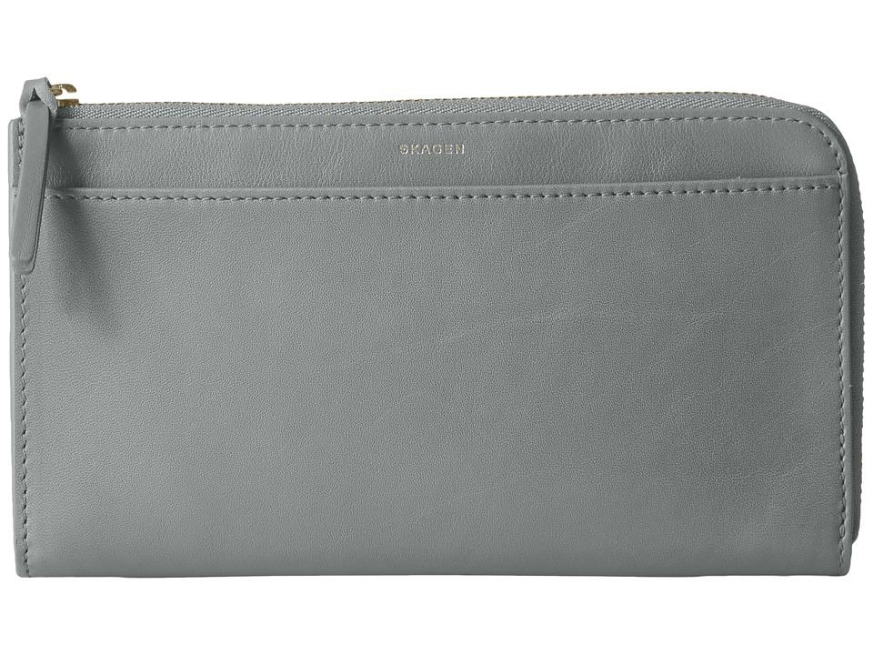 Skagen - Phone Wallet (Light Ash) Wallet Handbags