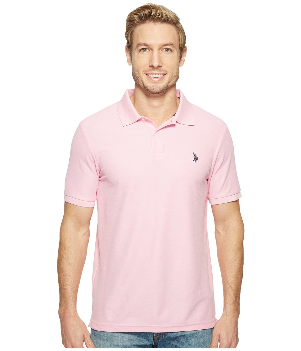 U.S. POLO ASSN. - Ultimate Pique Polo Shirt (Mystic Pint) Men's Clothing