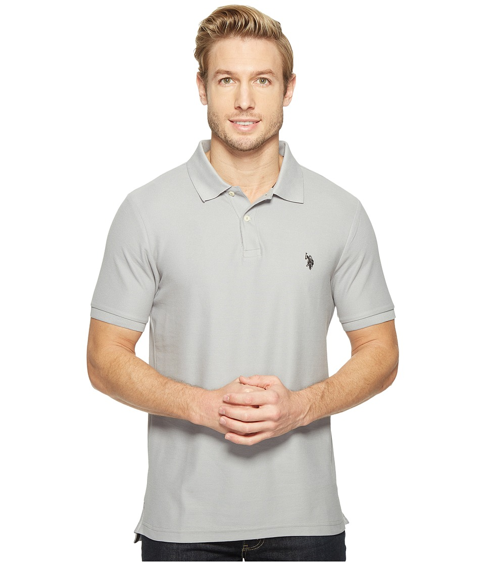 U.S. POLO ASSN. - Ultimate Pique Polo Shirt (White) Men's Clothing