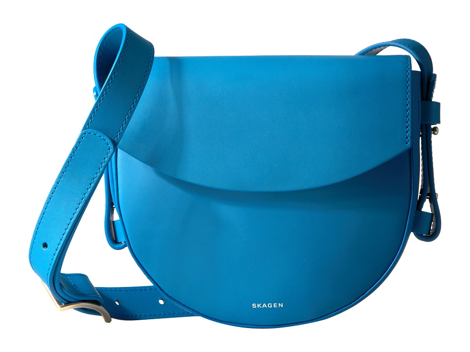 Skagen - Lobelle Saddle Bag (Marine) Bags