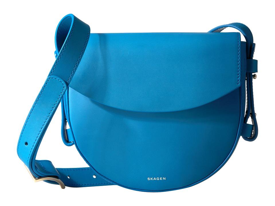 Skagen - Lobelle Saddle Bag (Marine) Bags