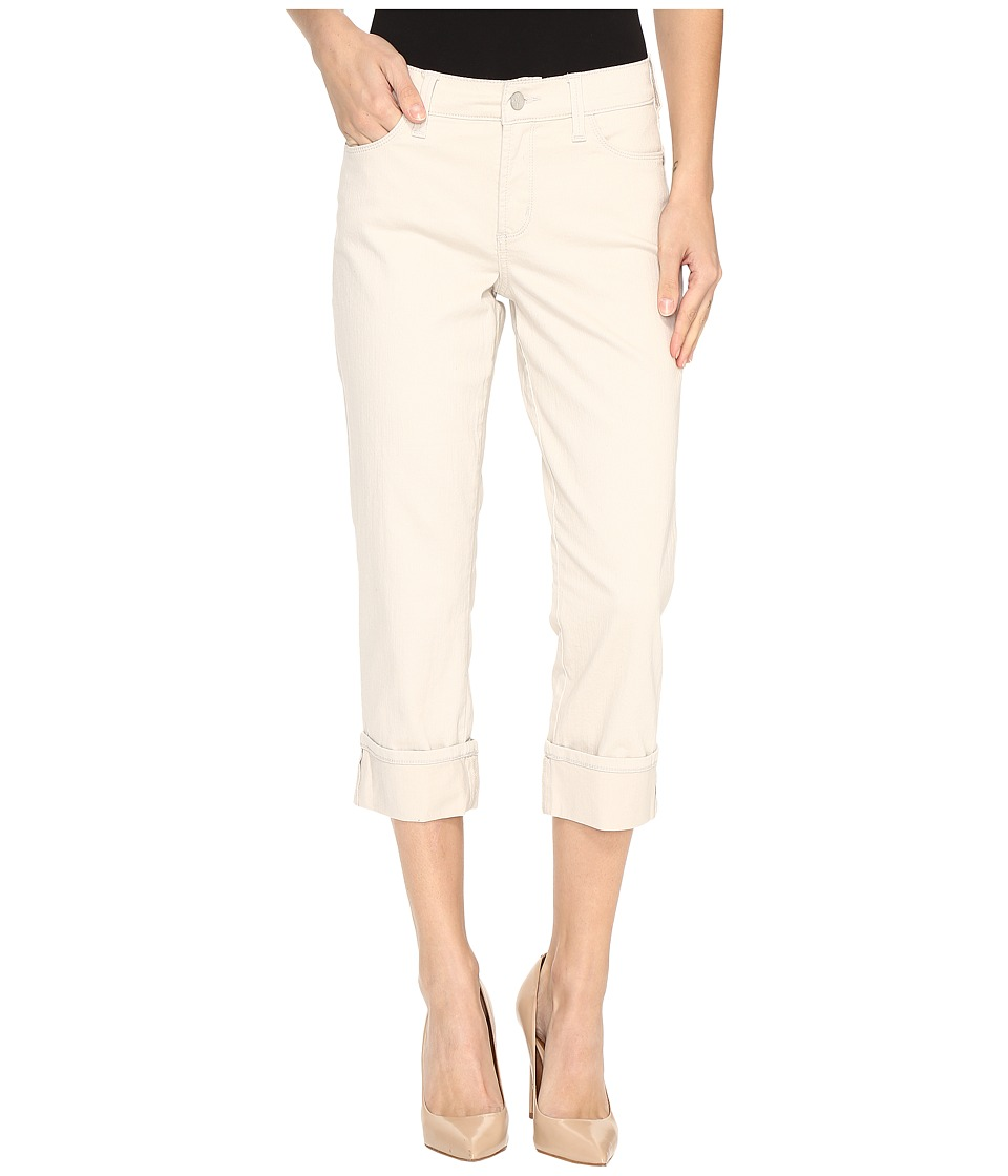 NYDJ Dayla Wide Cuff Capris in Clay (Clay) Women
