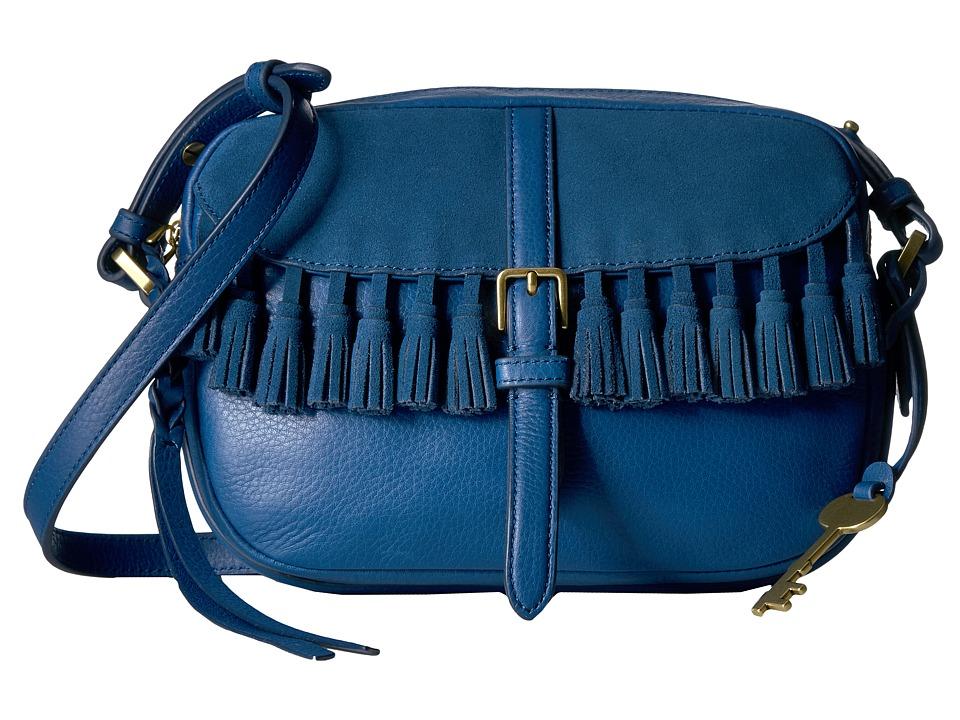 Fossil - Kendall Crossbody (Marine) Cross Body Handbags