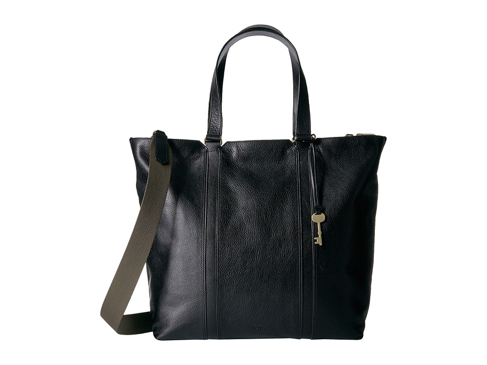 Fossil - Maya Work Tote (Black) Tote Handbags