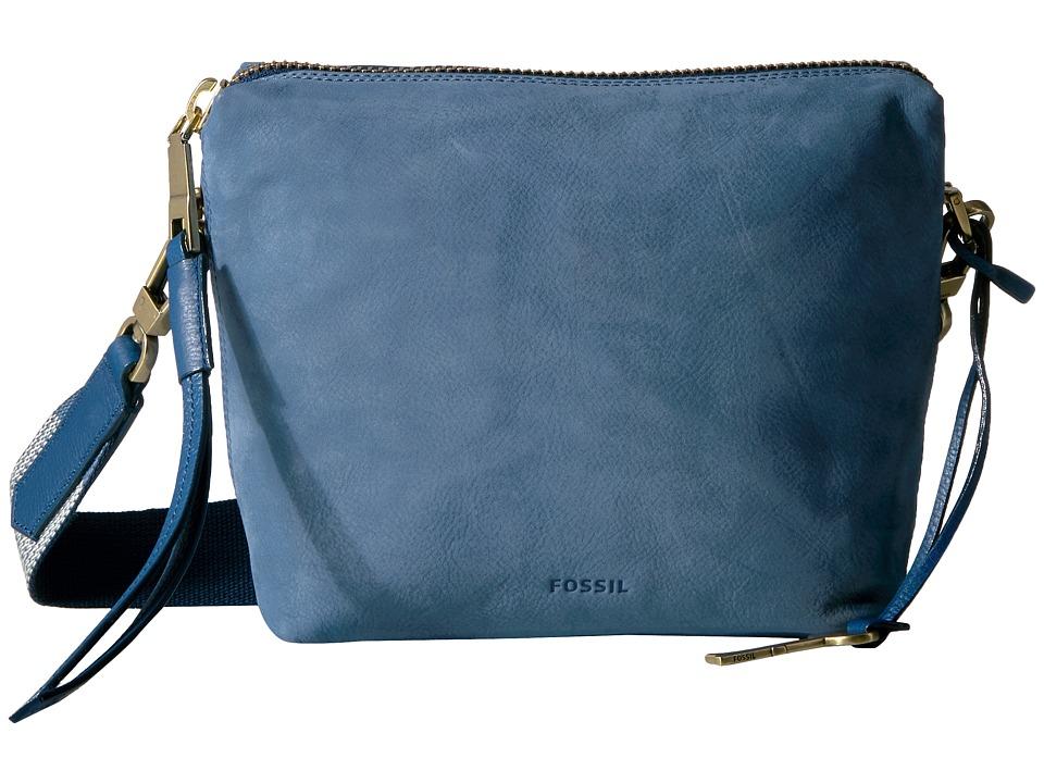 Fossil - Maya Crossbody (Cornflower) Cross Body Handbags