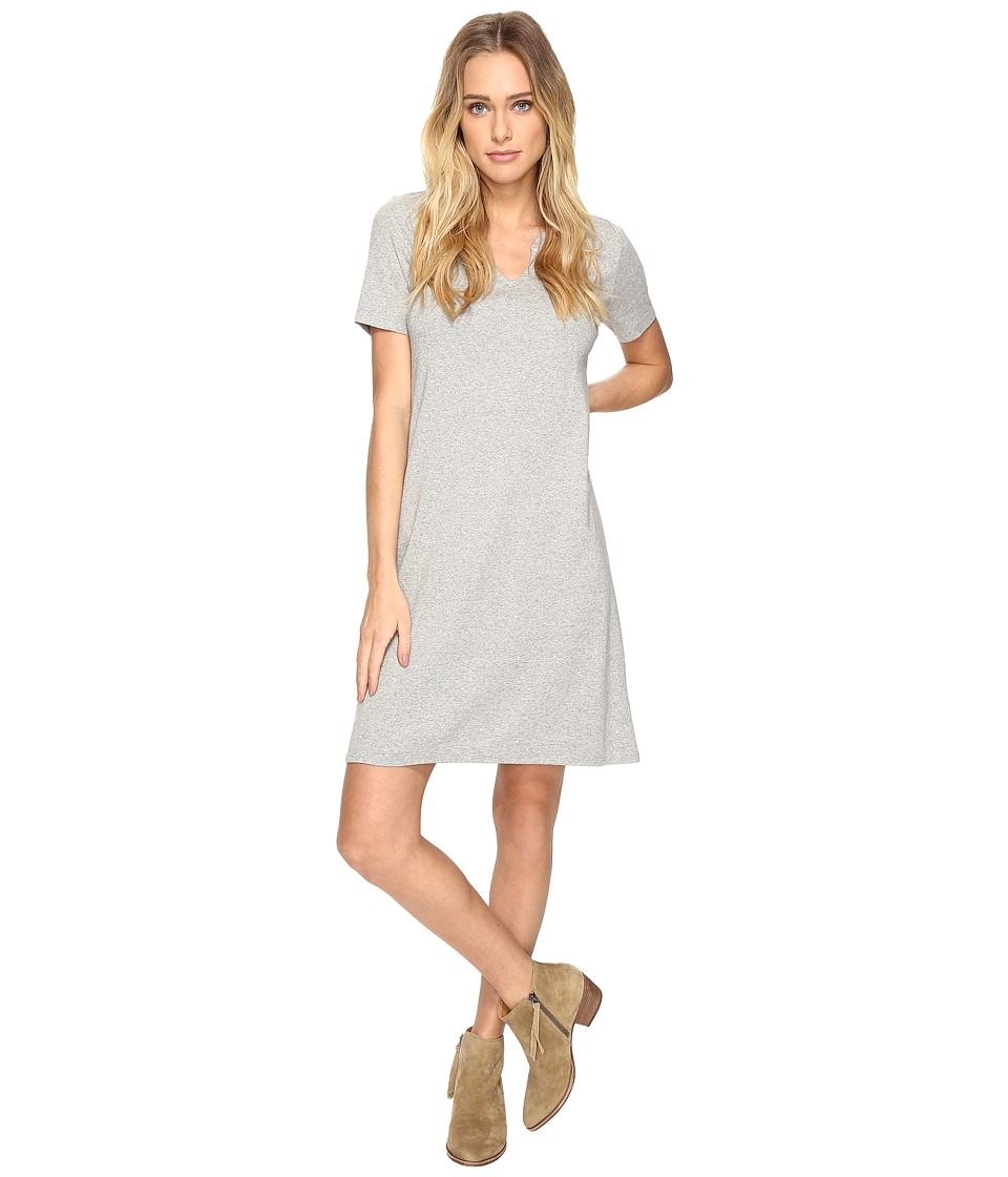 Three Dots Short Sleeve Dress (Granite) Women
