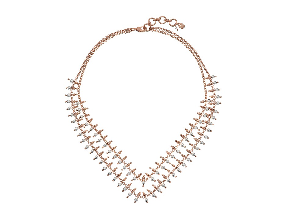 Lucky Brand - Stranded Collar Necklace (Two-Tone) Necklace