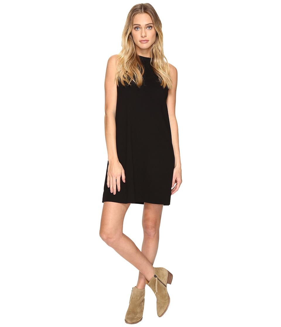 Three Dots - Sleveless Muscle Dress (Black) Women's Dress