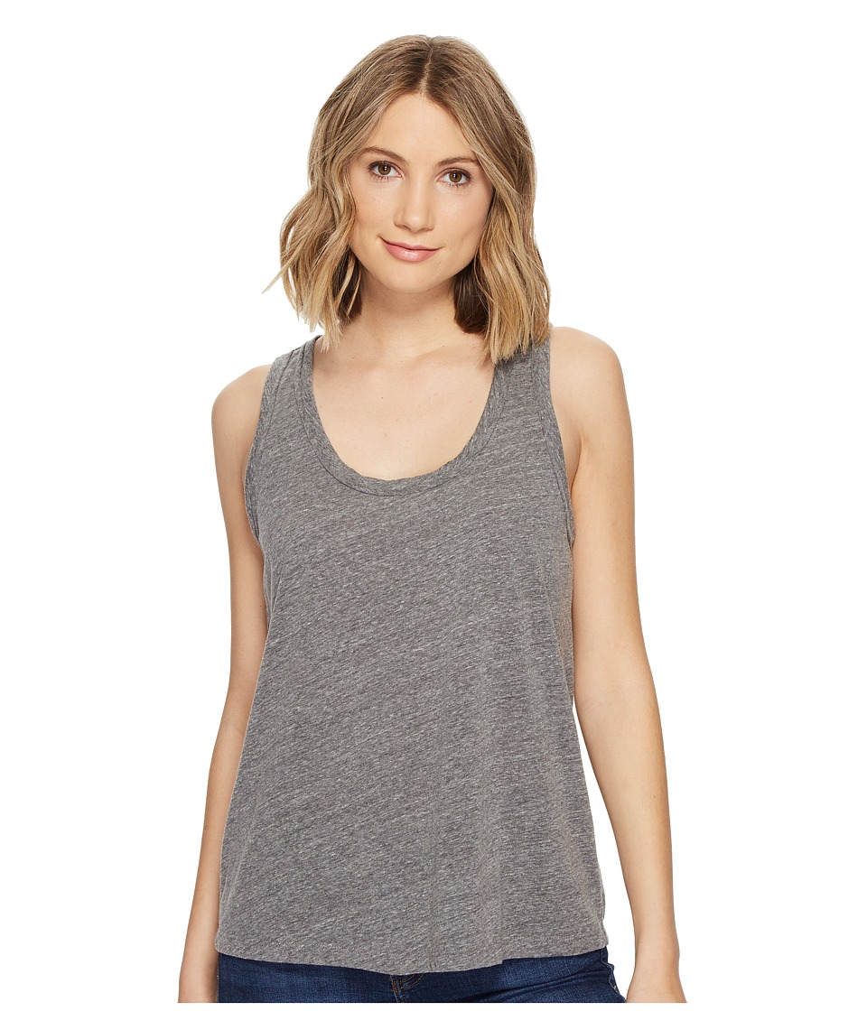 Michael Stars - Jersey U-Neck Tank Top (Heather Grey) Women's Sleeveless