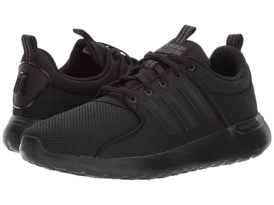 adidas - Cloudfoam Lite Racer (Core Black/Core Black/Utility Black) Men's Running Shoes