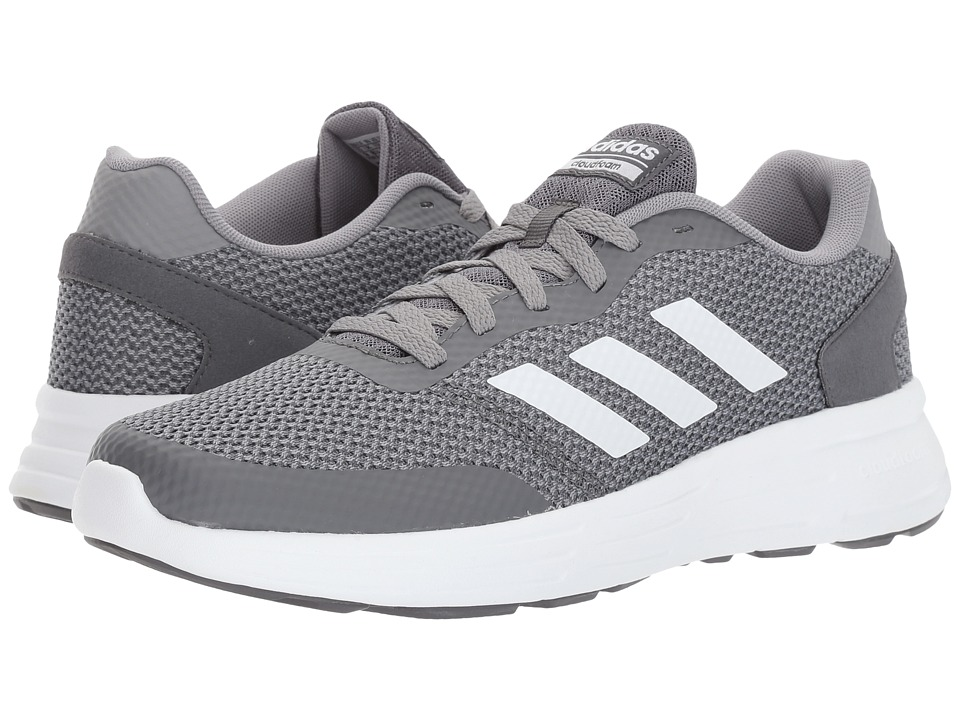 adidas - Cloudfoam Revolver (Grey Three/Footwear White/Grey Five) Men's Running Shoes