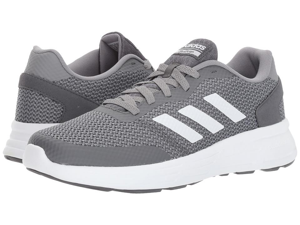 adidas Cloudfoam Revolver (Grey Three/Footwear White/Grey Five) Men