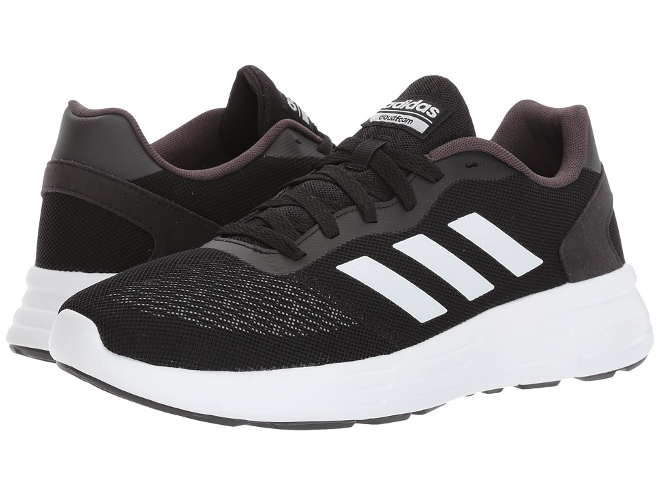 adidas - Cloudfoam Revolver (Core Black/Footwear White/Utility Black) Men's Running Shoes