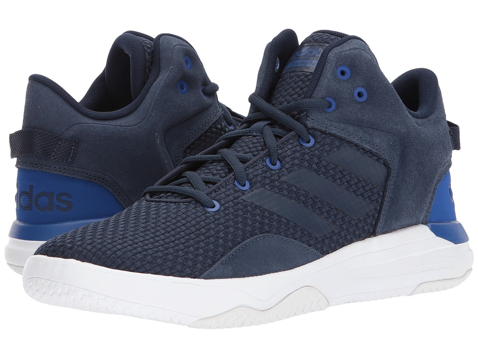 adidas - Cloudfoam Revival Mid (Collegiate Navy/Collegiate Navy/Collegiate Royal) Men's Basketball Shoes