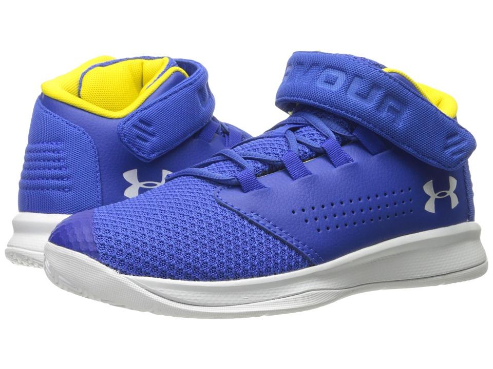 Under Armour Kids UA BPS Get B Zee Basketball (Little Kid) (Team Royal/White/White) Boys Shoes