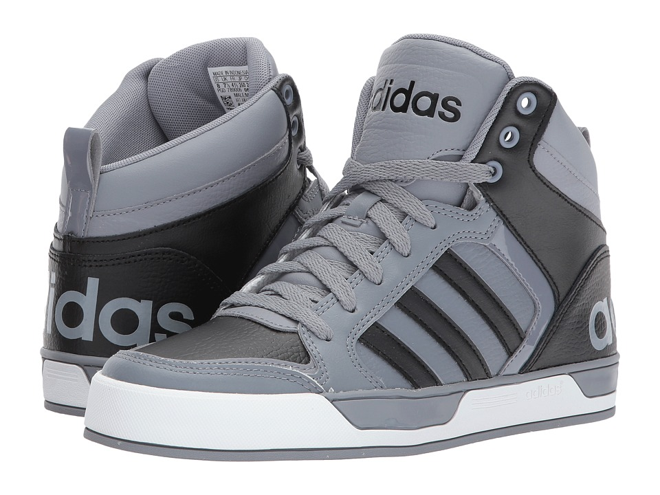 adidas - Raleigh 9TIS Mid (Grey/Core Black/Footwear White) Men's Shoes