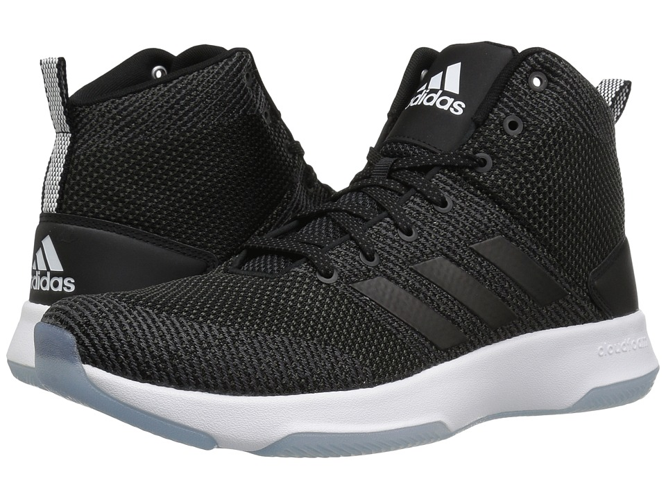 adidas - Cloudfoam Executor Mid (Utility Black/Core Black/Footwear White) Men's Basketball Shoes
