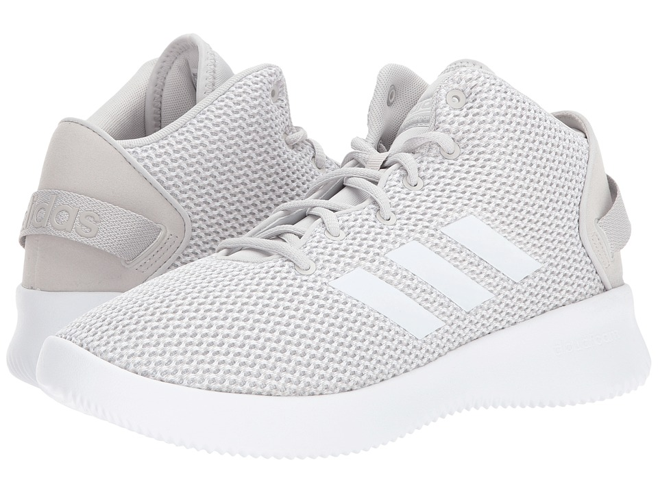 adidas - Cloudfoam Refresh Mid (Grey One/Footwear White/Grey Two) Men's Basketball Shoes