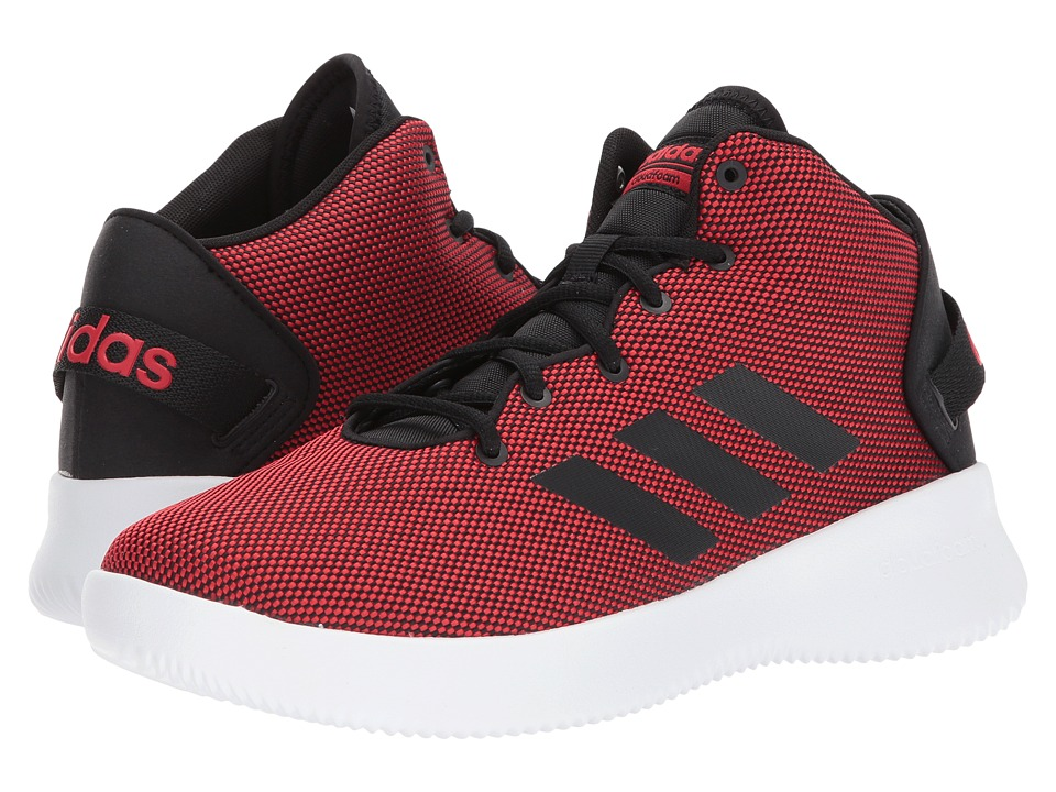 adidas - Cloudfoam Refresh Mid (Scarlet/Core Black/Footwear White) Men's Basketball Shoes