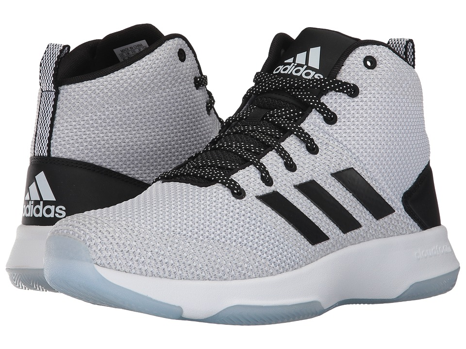 adidas - Cloudfoam Executor Mid (Footwear White/Core Black/Grey One) Men's Basketball Shoes