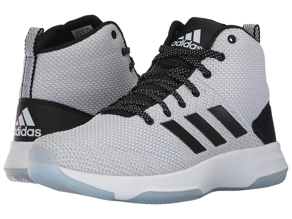 adidas - Cloudfoam Executor Mid (Footwear White/Core Black/Grey One) Men's Basketball Shoes