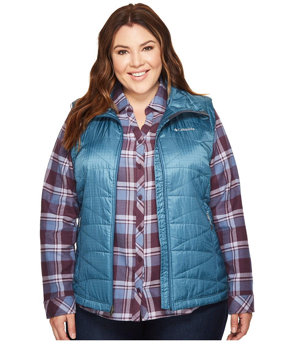 Columbia Plus Size Mighty Litetm III Vest (Blue Heron) Women