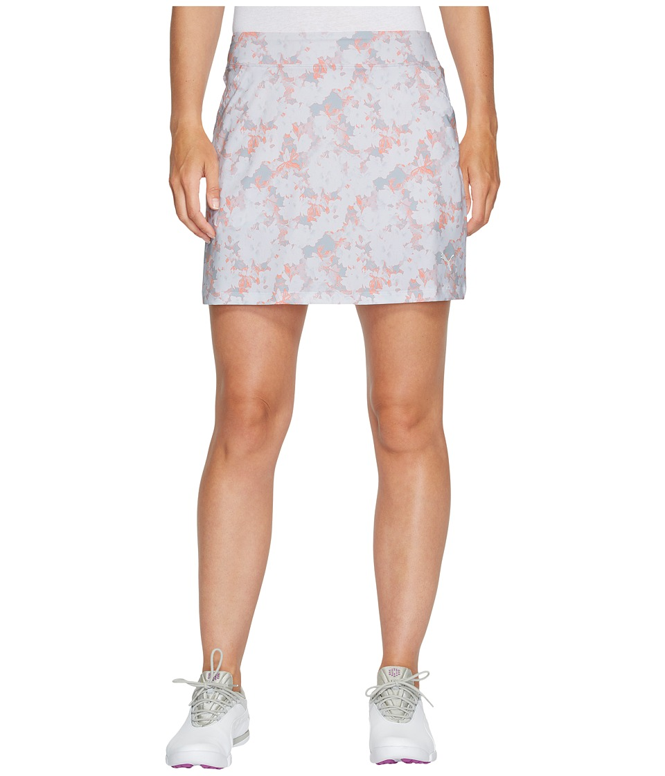 PUMA Golf - Bloom Knit Skirt (Bright White 2) Women's Skirt