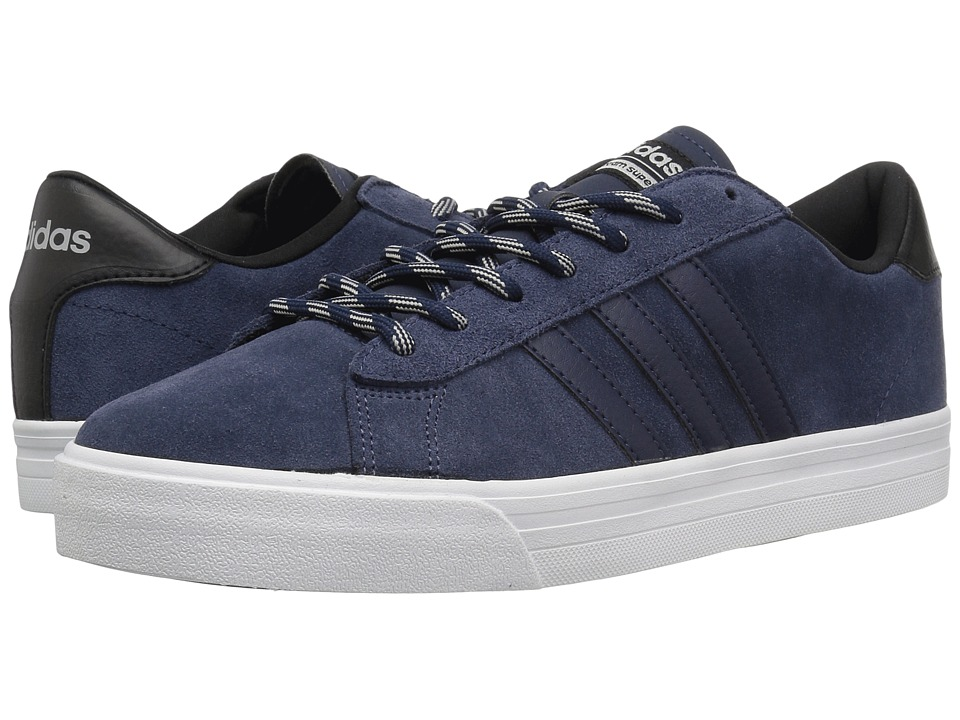 adidas - Cloudfoam Super Daily (Collegiate Navy/Collegiate Navy/Core Black) Men's Shoes