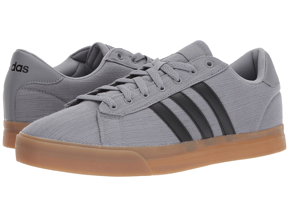 adidas - Cloudfoam Super Daily (Grey Three/Core Black/Footwear White) Men's Shoes