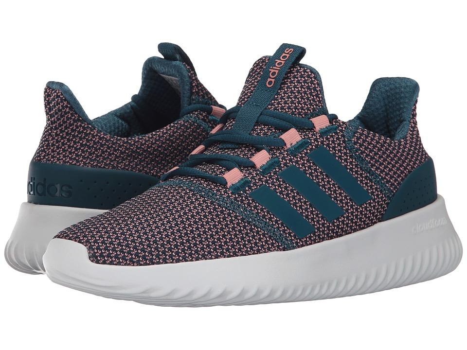 adidas - Cloudfoam Ultimate (Core Black/Core Black/Footwear White) Women's Running Shoes