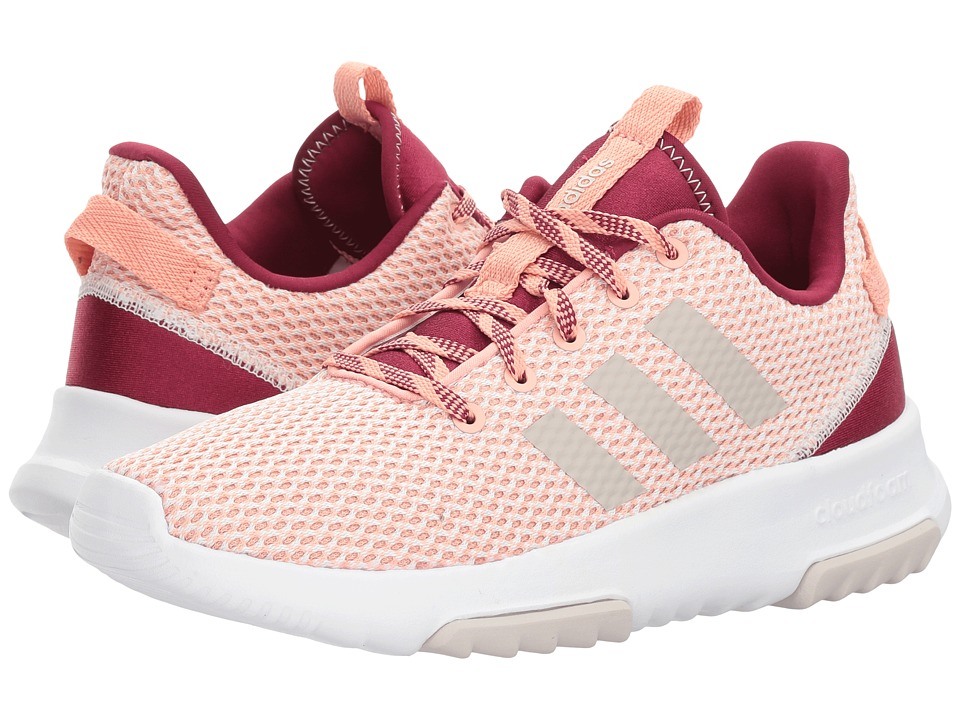adidas - Cloudfoam Racer TR (Trace Pink/Pearl Grey/Mystery Ruby) Women's Running Shoes
