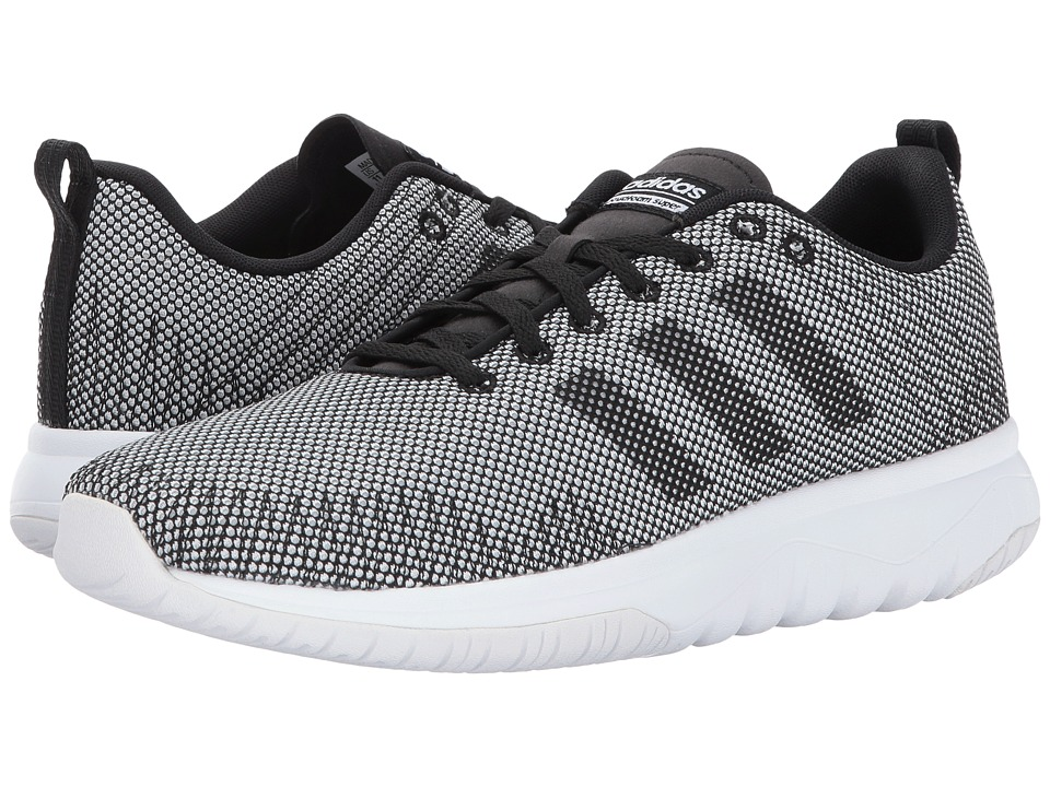 adidas - Cloudfoam Super Flex (Footwear White/Core Black/Core Black) Women's Running Shoes