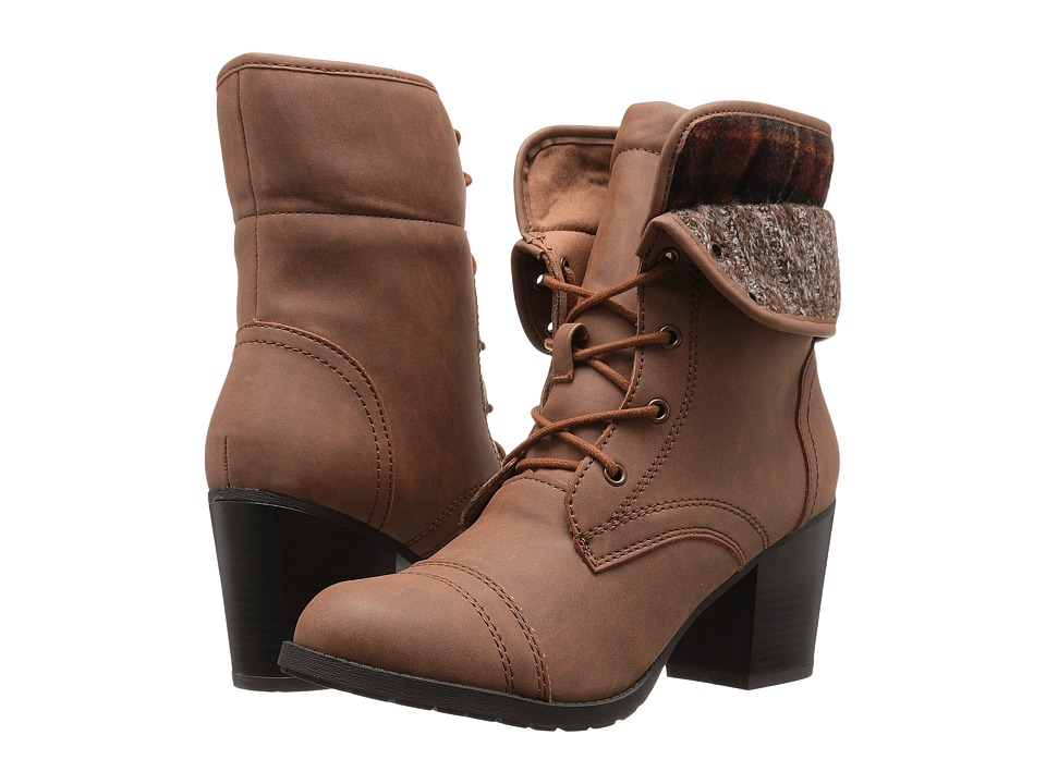 Madden Girl Westyyy (Cognac Paris) Women