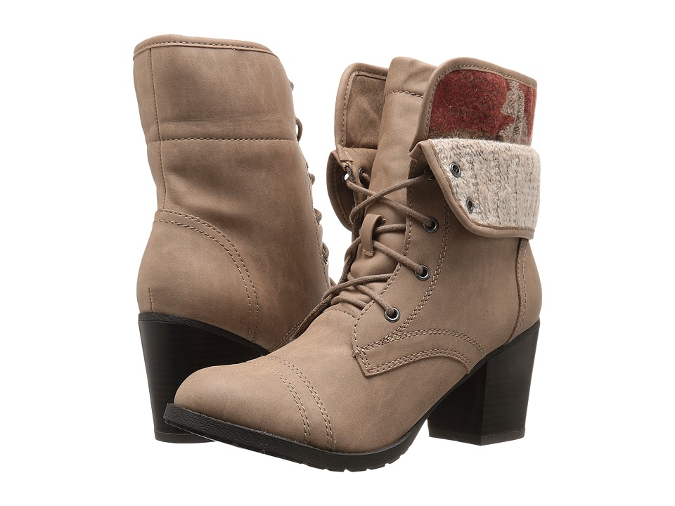 Madden Girl Westyyy (Taupe Paris) Women