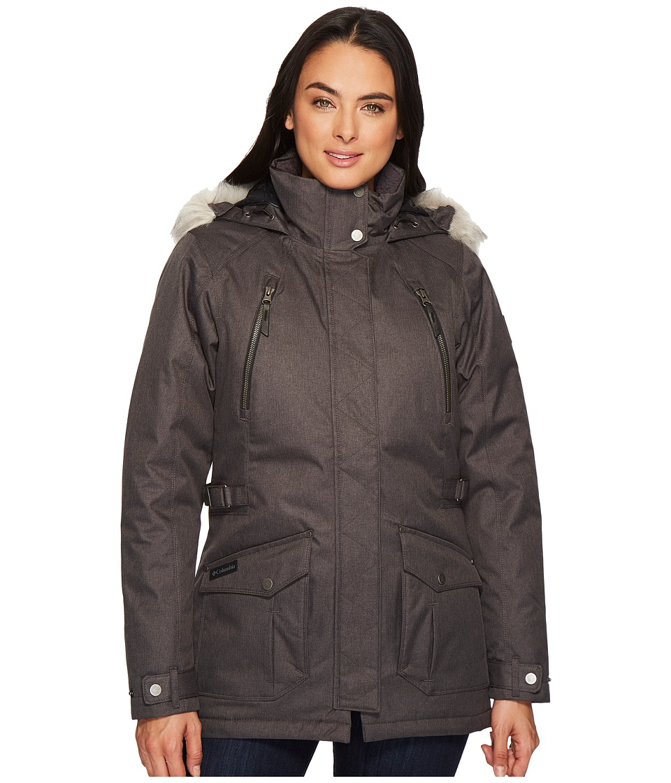 Columbia Barlow Pass 550 TurboDowntm Jacket (Black 1) Women