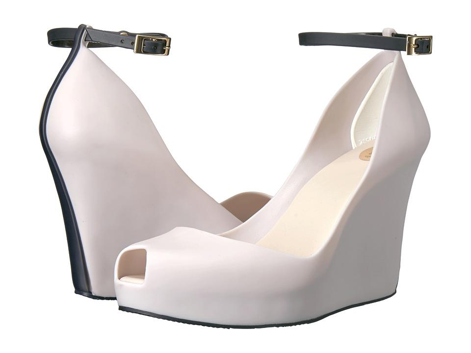 Melissa Shoes - Patchuli LX (Beige/Black) Women's Shoes
