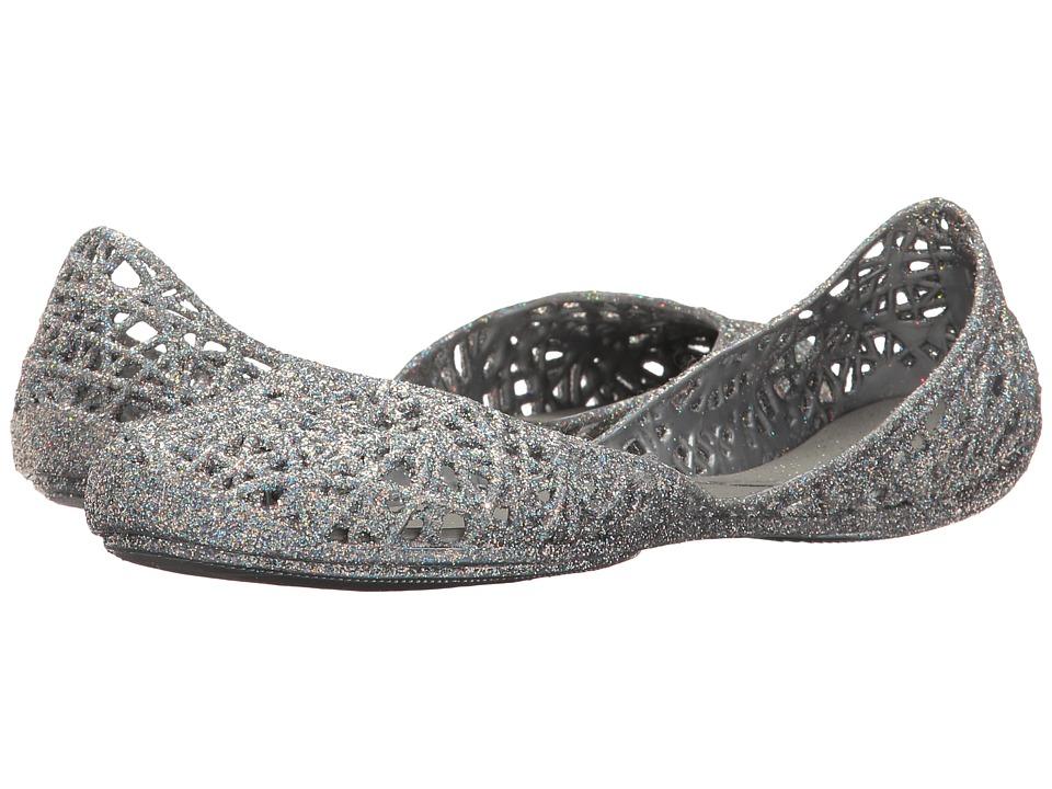 Melissa Shoes Melissa Campana Zig Zag (Silver Glitter 1) Women