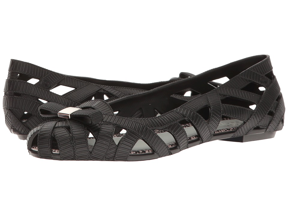 Melissa Shoes - JW + Jean V (Black) Women's Shoes