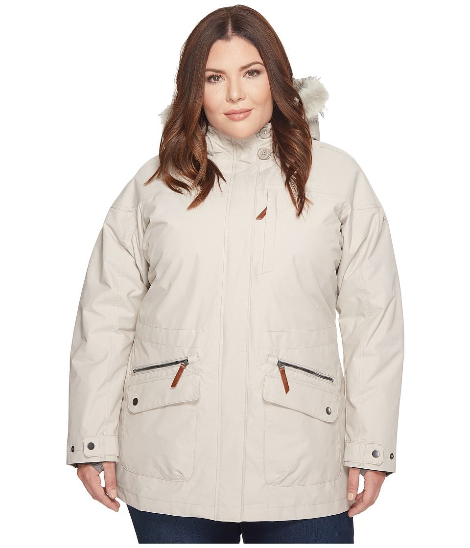 Columbia Plus Size Carson Pass IC Jacket (Light Cloud) Women