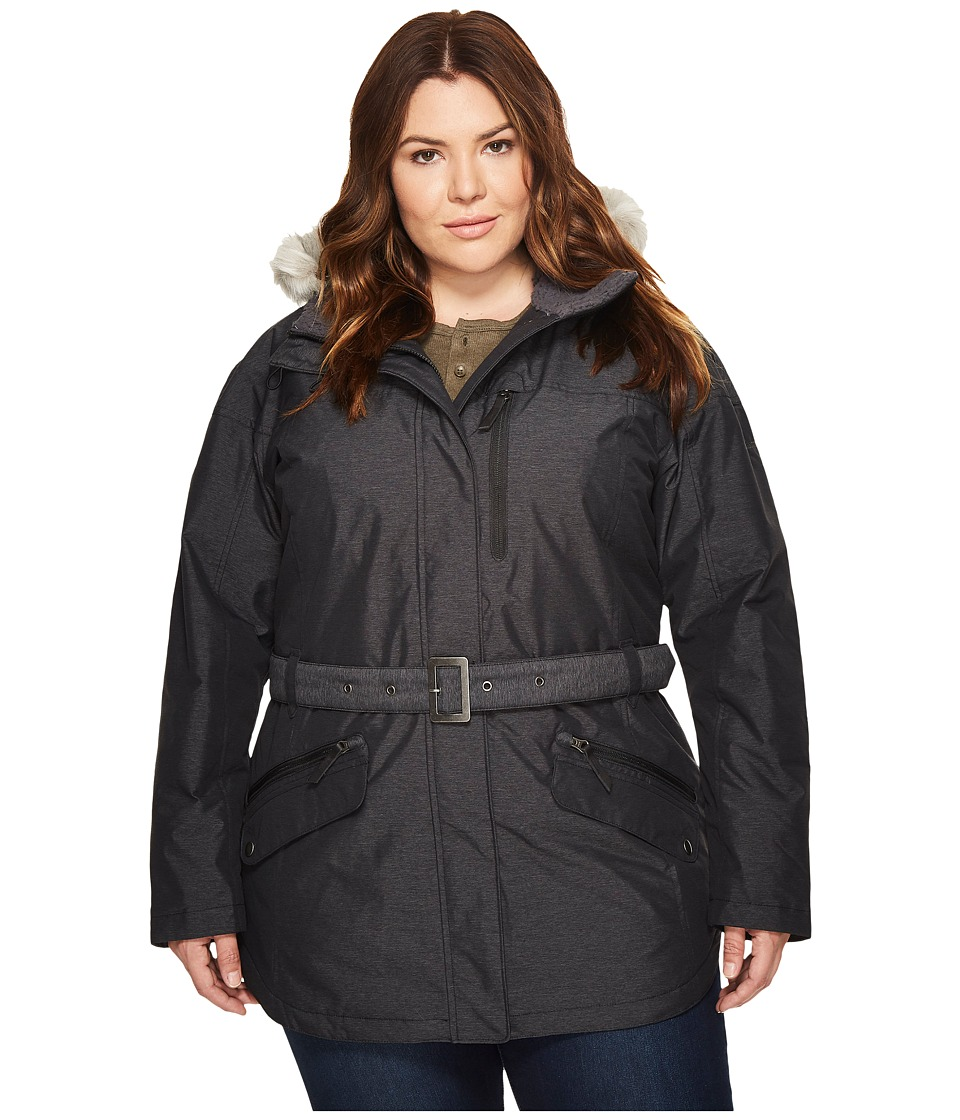 Columbia Plus Size Carson Pass II Jacket (Black 1) Women