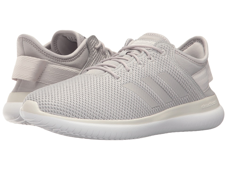 adidas - Cloudfoam QT Flex (Grey Two/Grey Two/Crystal White) Women's Running Shoes